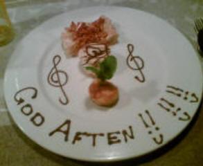 dessertbording